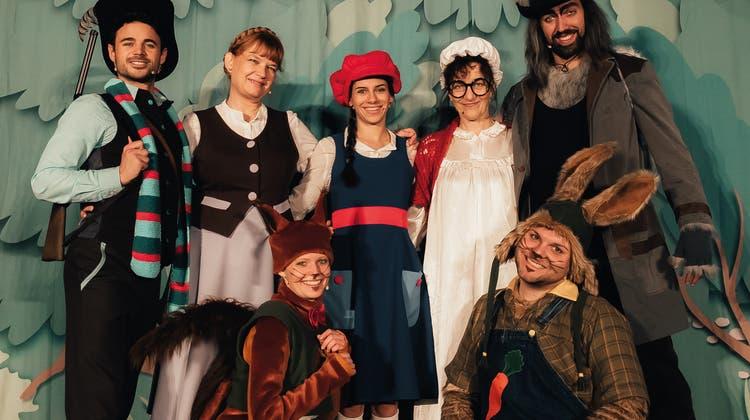 Sie haben ein Herz für den Wolf: Märlitheater Zürich bringt auch dieses Jahr ein Grimm-Märchen