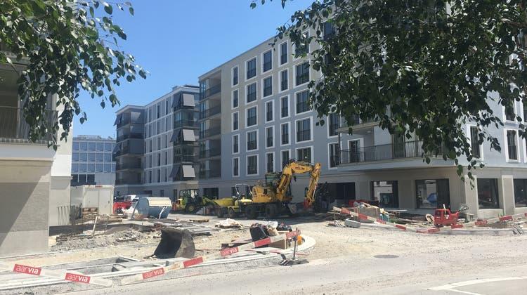 Schon alle Wohnungen vermietet: Neueste Limmatfeld-Siedlung kurz vor Abschluss