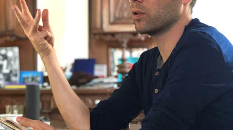 Gruss aus Buenos Aires: Der Basler Künstler Chris Hunter erlebt die Krise in Argentinien, allerdings anders als hier