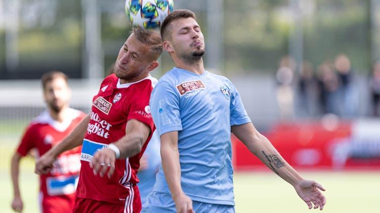 Siegreich im ersten Testspiel: Der FC Baden bezwingt den FC Tuggen mit 2:1