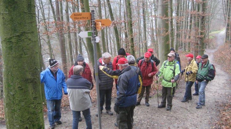 Saisonstart 2020 der Wandersleut vom Oberdorf.