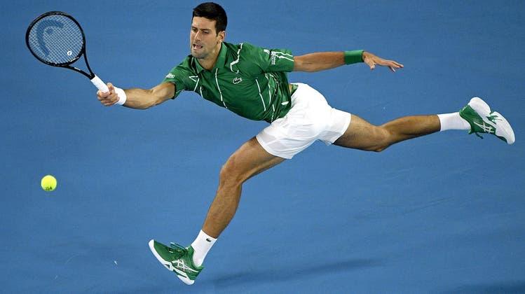 Nach Zwischentief: Titelverteidiger Novak Djokovic steht nach Vier-Satz-Sieg in der 2. Runde