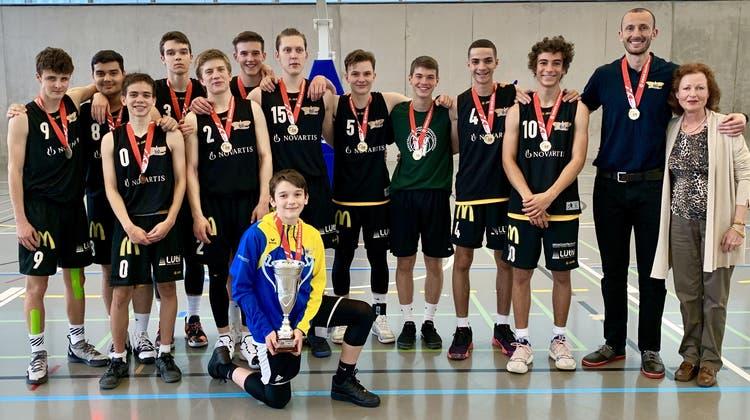 Knapper Sieg im Endspiel - Die U17-Jungs der Starwings sind Schweizer Meister
