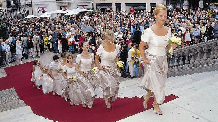 Solothurn war schon vor 20 Jahren eine Hochzeitstadt