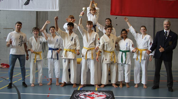 Wohler Karatekas erkämpfen sich vier Ehrenplätze an der Vollkontakt-Schweizermeisterschaft
