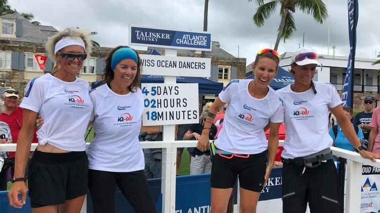 Schweizer Frauen-Ruderteam mit Grenchnerin hat den Atlantik überquert