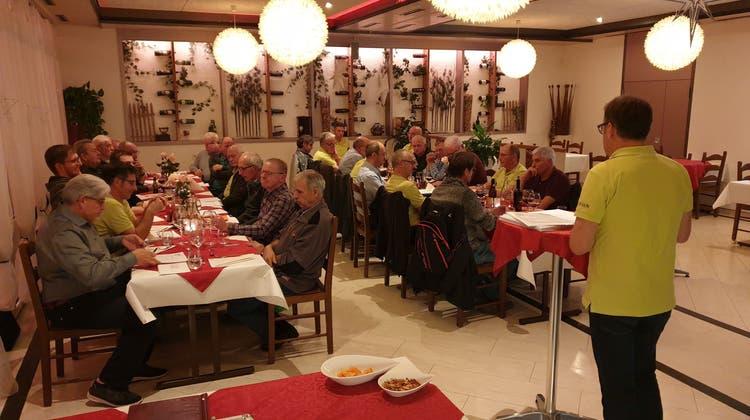 52. Generalversammlung der Männerriege Uerkheim vom 9. Januar 2020