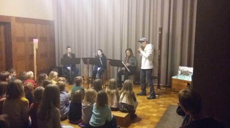 Zauberhafte Flötenklänge in der Musikschule Baden