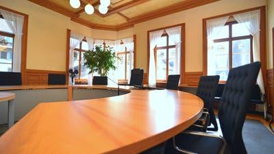 Der Gerichtssaal des Bezirksgerichts Weinfelden im Rathaus. (Bild: Mario Testa)