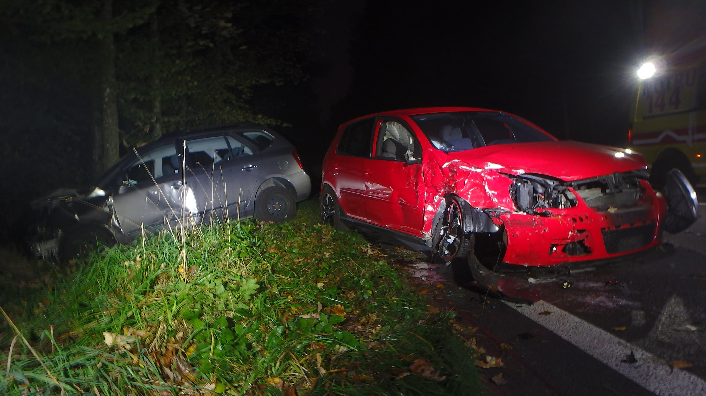 Verkehrsunfall in Rupperswil (24.10.19)