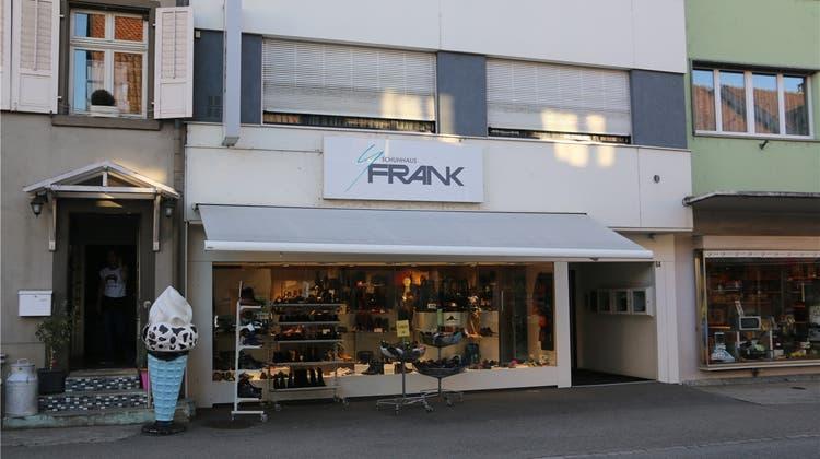 Traditionsbetrieb Schuhhaus Frank schliesst – sechs Mitarbeiter betroffen