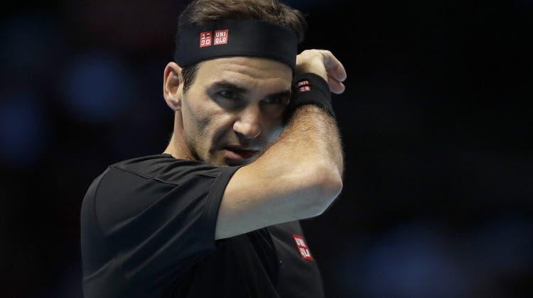 Roger Federer scheitert an den ATP Finals an Stefanos Tsitsipas