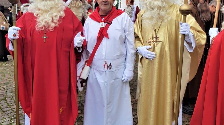 """""""No Fake- der Samichlaus lebt!"""" – Wangner St. Nikoläuse an der 4. Samichlaus-Synode"""