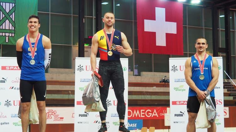 Wicki Schweizermeister über 60m