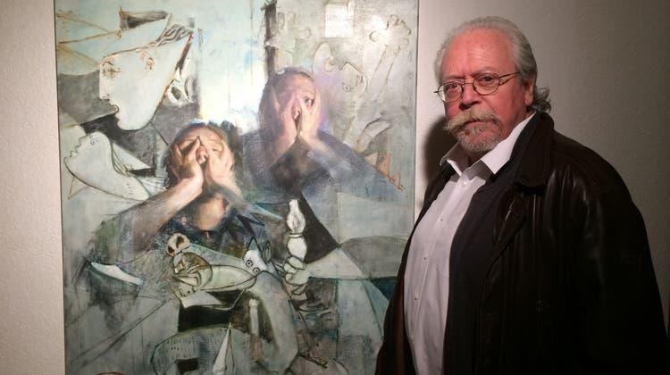 Christoph R. Aerni im Näijerehuus: Selbstporträt neben grossen Meistern