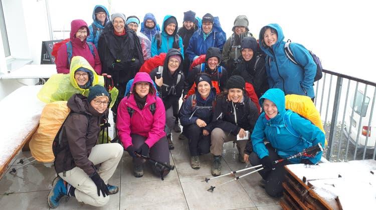 Turnerinnenreise im Schneegestöber
