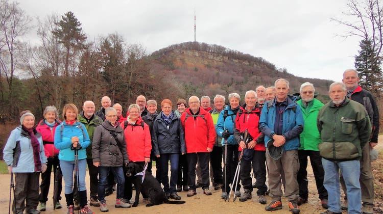 Abschlusswanderung der Wandergruppe Villigen vom 28.November 2019, vom Bürersteig nach Villigen