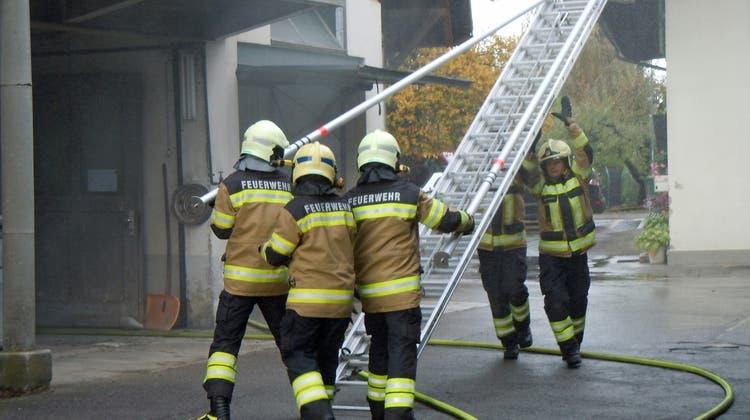Hauptübung 2019 Feuerwehr Lohn-Ammannsegg