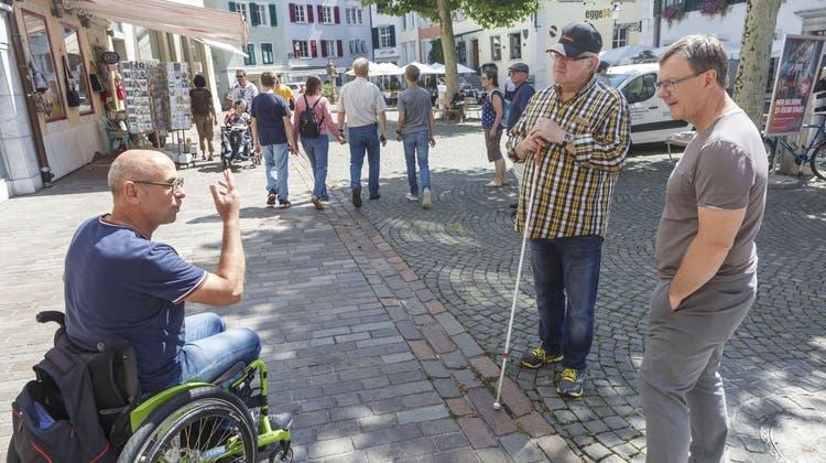 Wo Menschen mit Beeinträchtigungen auf Hindernisse stossen
