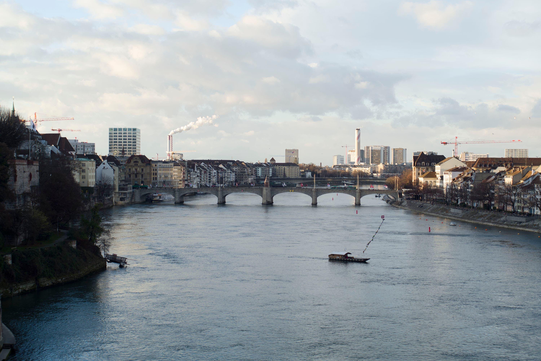 Die Rheinterrassen sollen zwischen Mittlerer Brücke und Wettsteinbrücke entstehen.