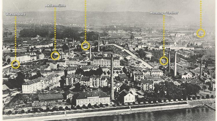 Einer flog übers Klybeck: So sah das Stadtquartier vor 100 Jahren aus