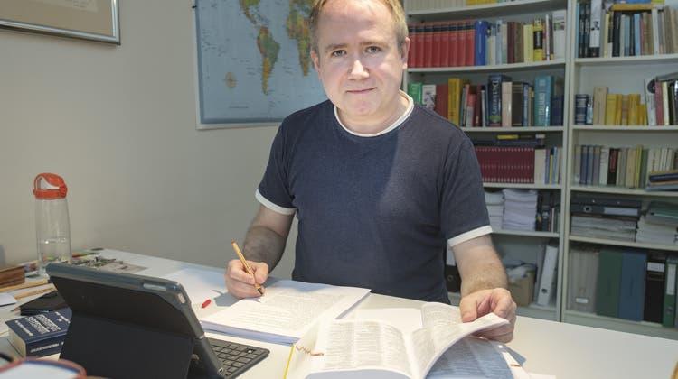 Lektor Christoph Blum: «Ich helfe Autorinnen, dass ihre Texte noch besser werden»