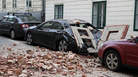 Mindestens ein Toter bei Erdbeben in kroatischer Hauptstadt Zagreb