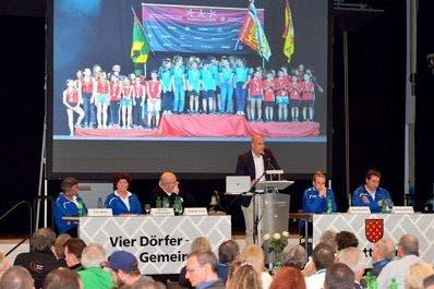 Stefan Riner vermeldete als Geschäftsführer des Eidgenössichen Turnfest 2019 ein positives Finanzergebnis. Gerry Frei