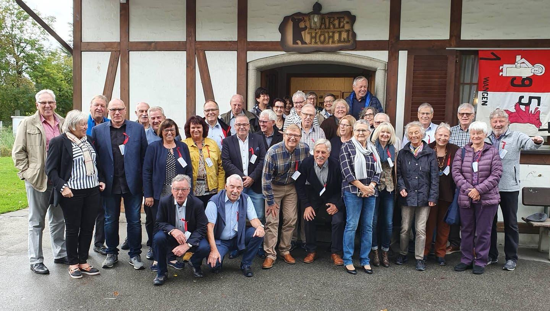 Jungrentner/-Innen-Treffen Jahrgang 54 Wangen