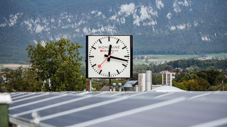80 Prozent des Stromverbrauchs deckt Mondaine jetzt selbst – neuer CEO vorgestellt