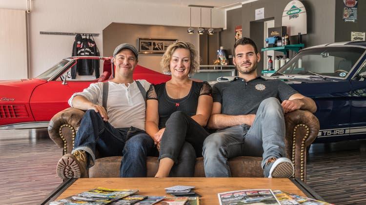 Die Drei von der Traumautofabrik – «Was wir anbieten ist hier einzigartig»