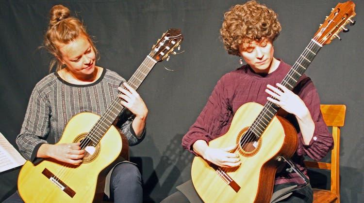 Das Duo Schö a Deux begeisterte das Publikum in der Kultschüür
