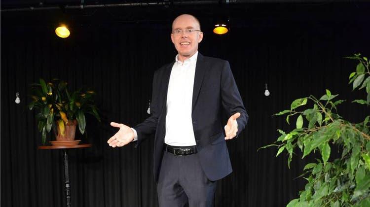 Thomas Skipwith, Präsident des Rhetorik Clubs: «Man muss ein bisschen Waden beissen»