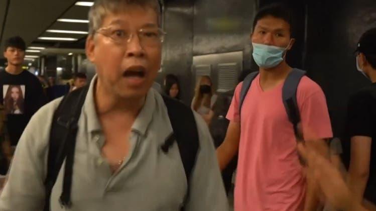 In Hongkong liegen die Nerven blank – der Generalstreik legt die Stadt weitgehend lahm