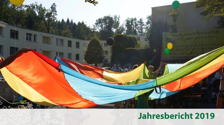 Jahresbericht Quartierverein Rombachtäli 2019 online - Fortsetzung Nachbarschaftshilfe