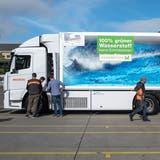 «Wenn man sauberer fahren kann, soll man das tun»: Migros Ostschweiz läutet Wasserstoffzeitalterauf den Strassen ein