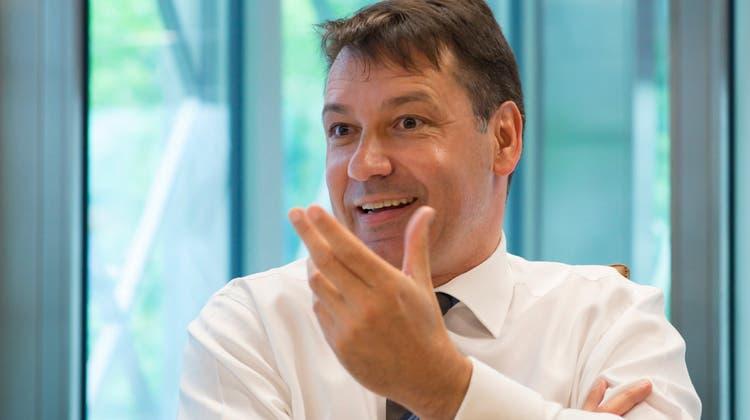 Er ist der neue starke Mann der Basler SVP – zumindest sieht sich Pascal Brenneisen so