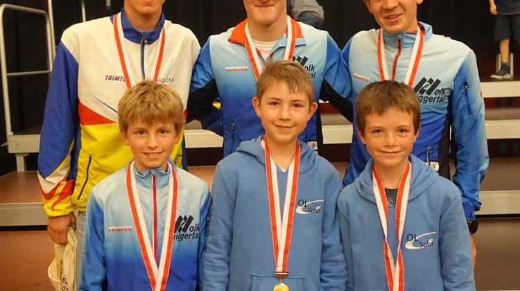 Schweizermeistertitel für junge und jüngste Aargauer OL-Läufer