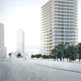 Das neue Merker-Hochhaus: Ein filigraner Turm aus Glas