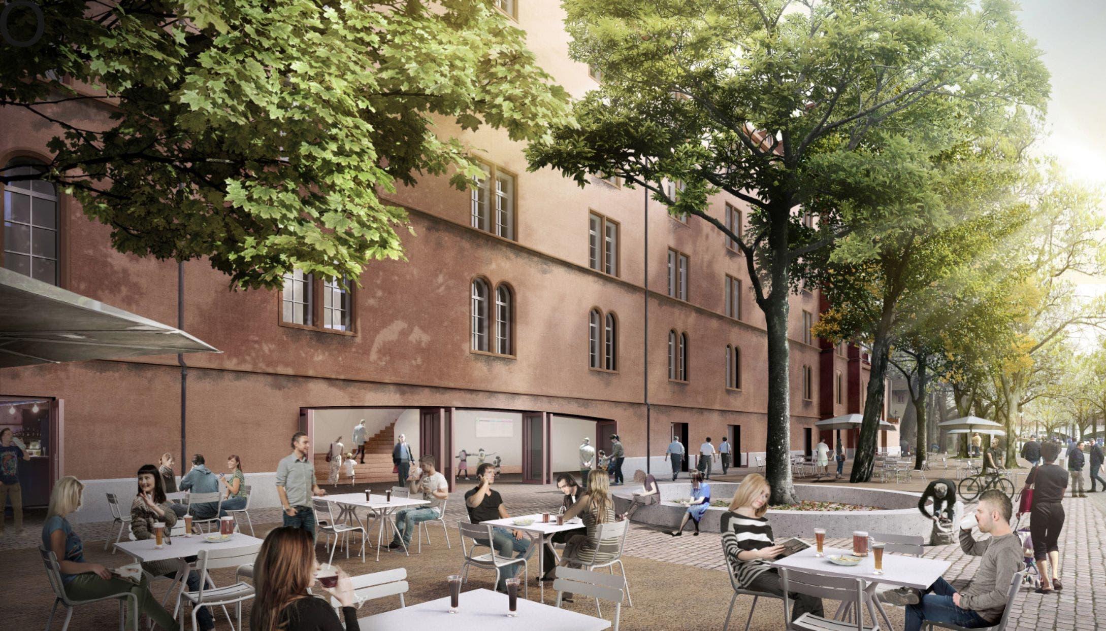 Baustelle Kaserne Basel