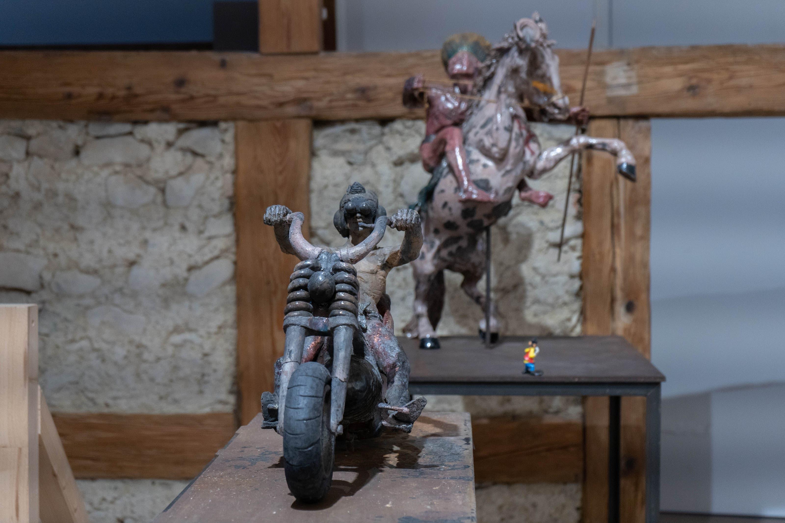 Die Skulpturen von Bruno Fischer.