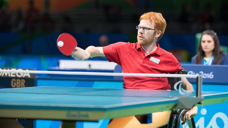 Erste Medaille an internationalem Titelkampf: Silvio Keller gewinnt Bronze an der Para-Tischtennis EM