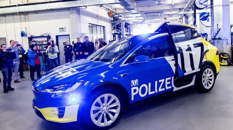 Basler Justiz- und Sicherheitsdepartement setzt auch in Zukunft auf e-Mobilität