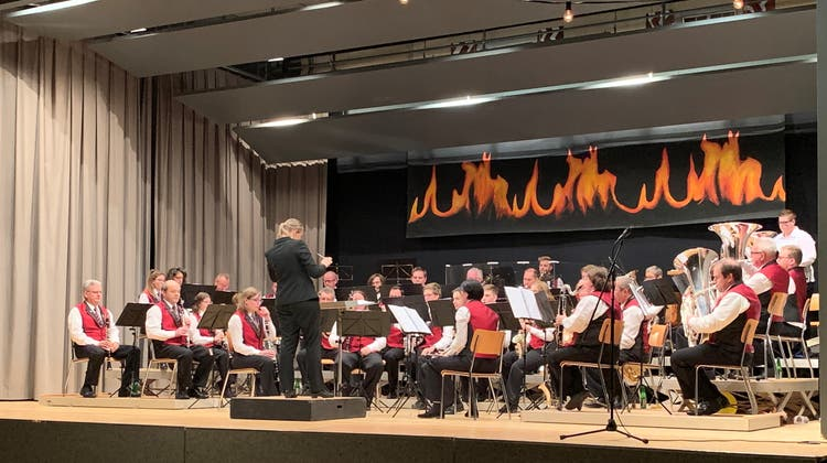 Musikgesellschaft Lostorf begeisterte mit ihrem Jahreskonzert