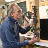 «Die Kunst war immer schon in mir»: Im Atelier des Trimbacher Künstlers Kufferath von Kendenich