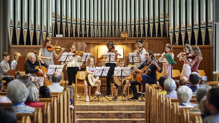 An der Fête de la musique zeigte sich die Orgel von ihrer bunten Seite