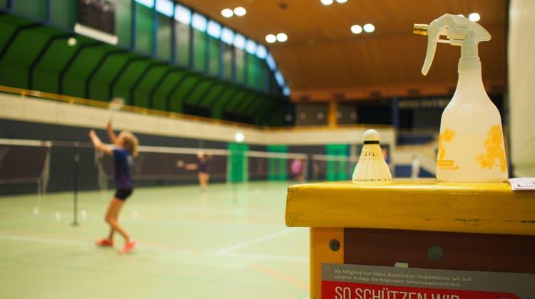 Sport für Vereine ist in der Stadthalle auch wieder möglich