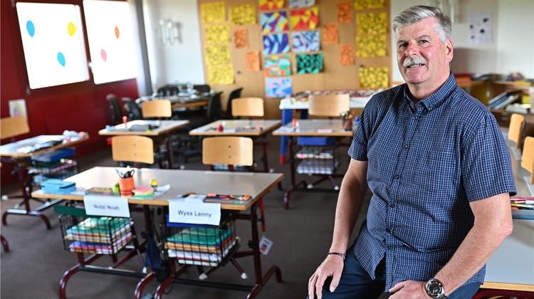 «Es war eine schöne Zeit»: Lehrer Walter Portmann schaut auf 40 Jahre voller Veränderungen zurück