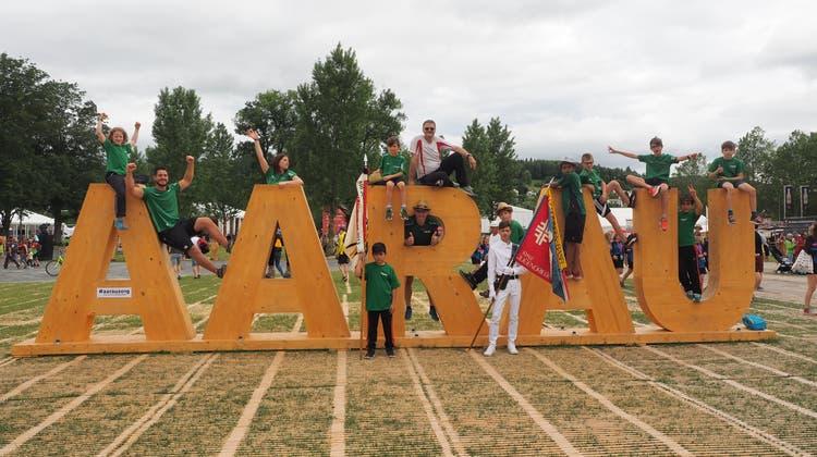 Das Wochenende der Jugend am Eidgenösisschen Turnfest in Aarau
