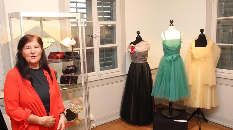 Im Museum Schneggli gibt es Mode aus den Fünfzigern zu sehen